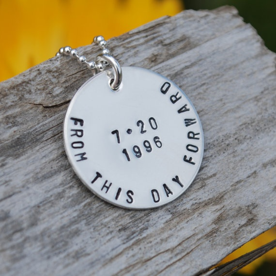 Sobriety Birthday Pendent - love this