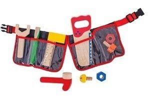 Czerwony pas stolarski 10 elementów  Bigjigs Toys