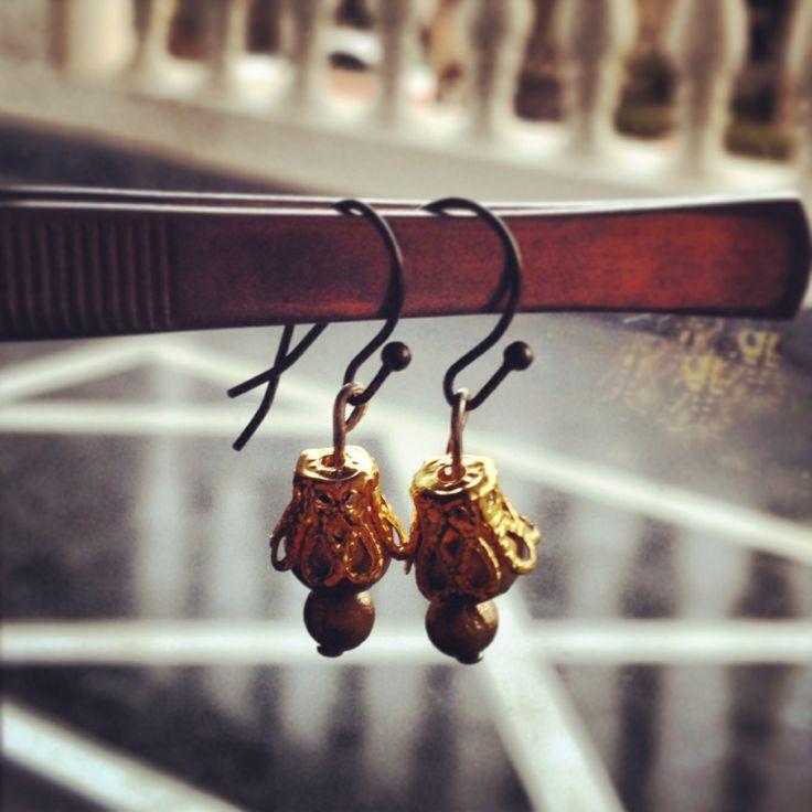 Another one #littlewildthings #handmadejewelry #soumyaprakash #handmadeearrings #earrings