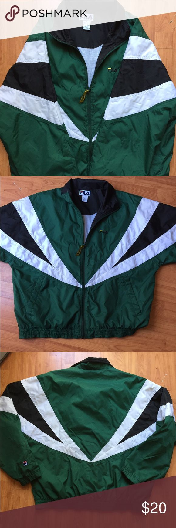 Fila vintage windbreaker!! Fila vintage windbreaker in good condition Fila Jackets & Coats Windbreakers