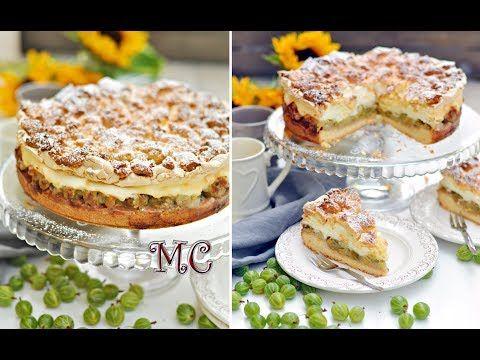 Najlepsze ciasto z agrestem – Kruche ciasto z agrestem i pianką - YouTube