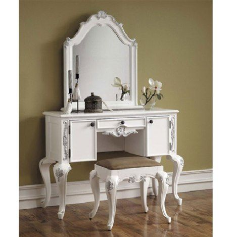 25 best ideas about bedroom vanity set on pinterest 13719 | 468810399ebf6bede960a0b21287c3c9