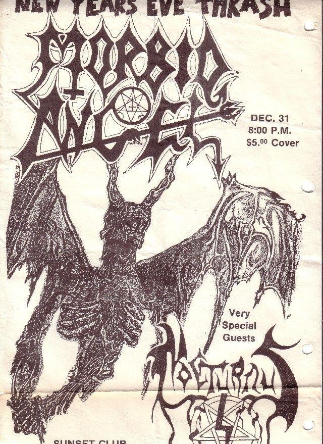 Morbid Angel and Nocturnus. Death Metal at its fiercest