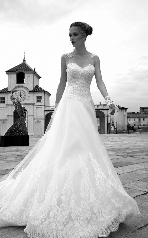 TIZIANA ARAB16629  (Robes de mariée). Créateur: Alessandra Rinaudo. ...