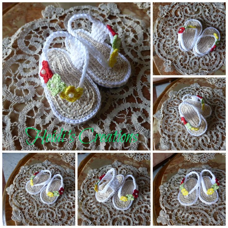 scarpette ,sandalini, shoes, uncinetto,crochet,  in cotone 0-3 mesi