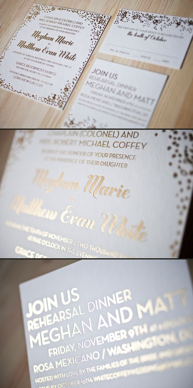 Best 21 Wedding Invites images on Pinterest | Wedding stationary ...