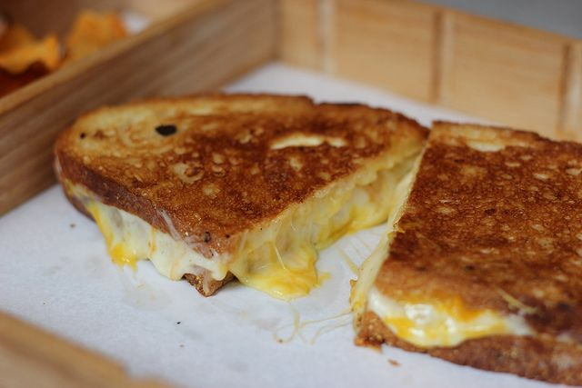 little muenster for grilled cheese