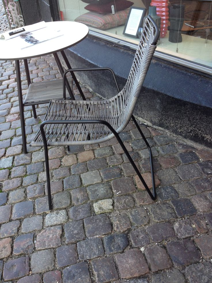Chair in the street