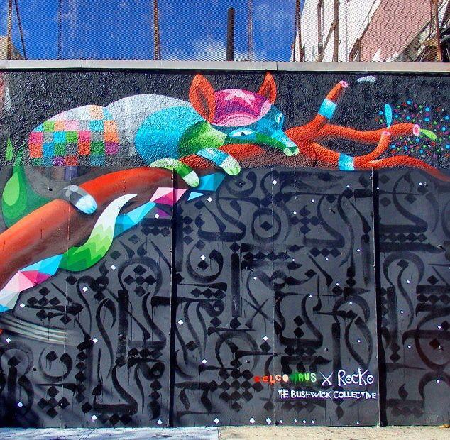 Eelco Virus + Rocko - Bushwick, Brooklyn, NY - 2014 (LP)