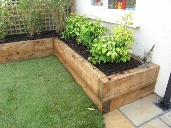 4x10 raised bed edges, for the garden in our backyard