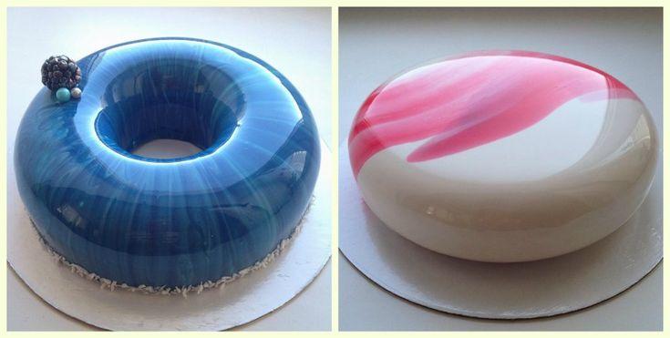 Ольга Носкова делает удивительной красоты торты и делится своим творчеством в инстаграм. На странице девушки представлен свой вариант космического торта, десерт в виде яйца и торт под названием «Зима в Норвегии» с узором, напоминающим северное сияние  – все десерты выглядят просто потрясающе! Смотрим!