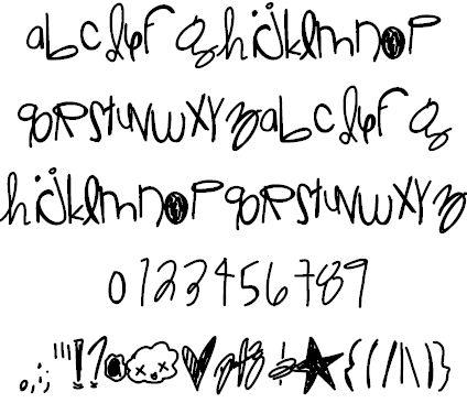 JelloRaindrops font by Des - FontSpace