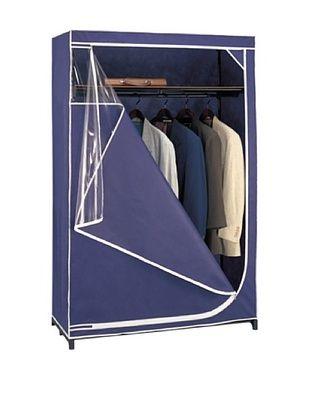 39% OFF Organize It All Blue Deluxe Storage Wardrobe