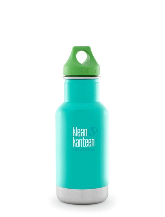 Isolerad Vattenflaska Klean Kanteen Kid - Tidal Pool, 355 ml
