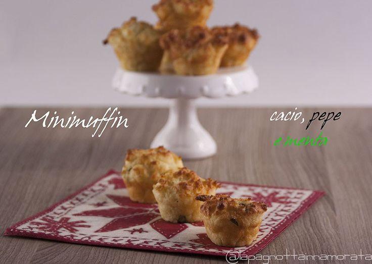 Minimuffin cacio, pepe e menta | La pagnotta innamorata