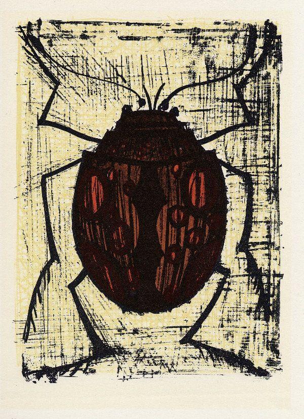 Bernard BUFFET : Scarabé, 1967