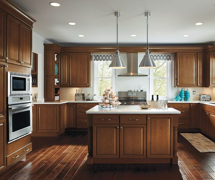 Maple Nectar Kitchen Cabinets Maple Light Floors And Countertops