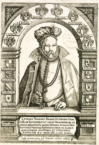 Tycho Brahe is probably the most famous observational astronomer of the sixteenth-century, although is not always clear whether he is better remembered for the fact that his data provided the basis for the work of Johannes Kepler (1571-1630), or because of the more colourful aspects of his life and death.