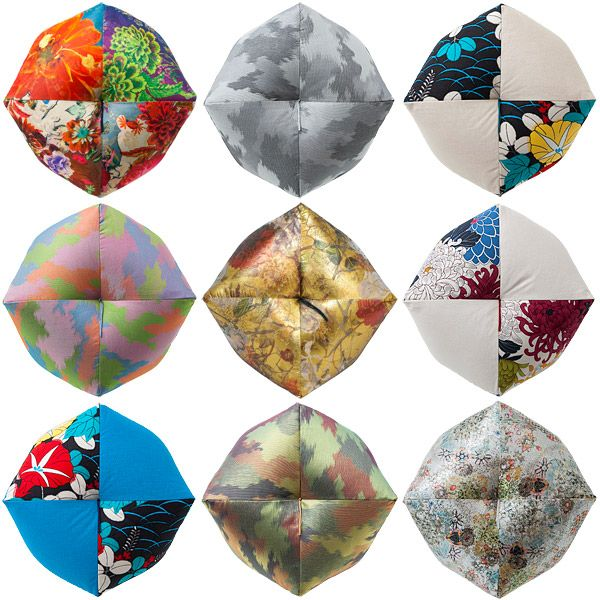 Maison et Objet 2015: Takaokaya Unveils Three New Collections of Ojami Cushions