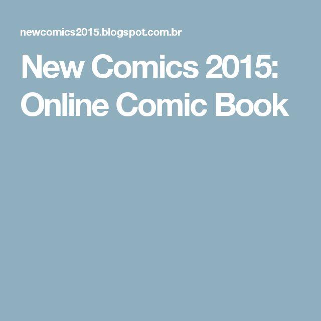 New Comics 2015: Online Comic Book
