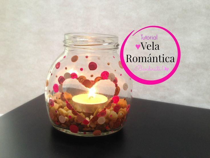 Vela Romántica ♡ Tutorial DIY