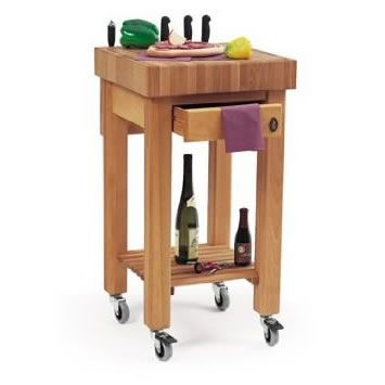 The Marlborough Butchers Block Kitchen Trolley Is Small But Beautifully Formed With Everything Right Where You Need It A Neat Little Wooden