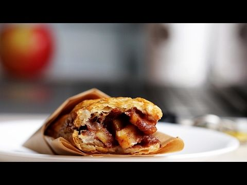 Baked Apple Pie Pockets - YouTube