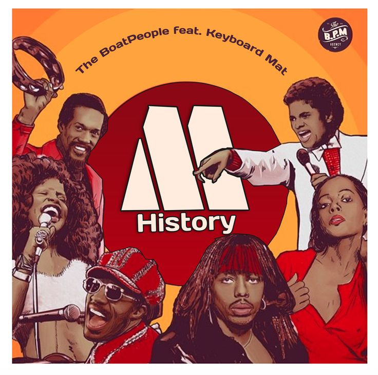 M. HISTORY feat. KEYBOARD MAT Original track created by The Boatpeople
