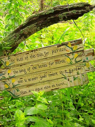 Garden Sign Ideas im making this sign for my back porch it will be Pretty Garden Sign