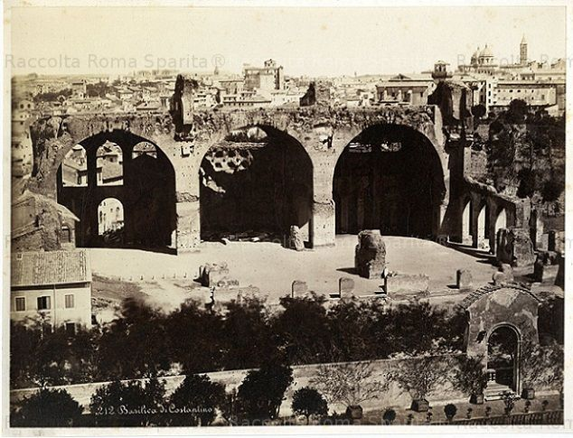 Basilica di Massenzio Anno: 1870 ca.