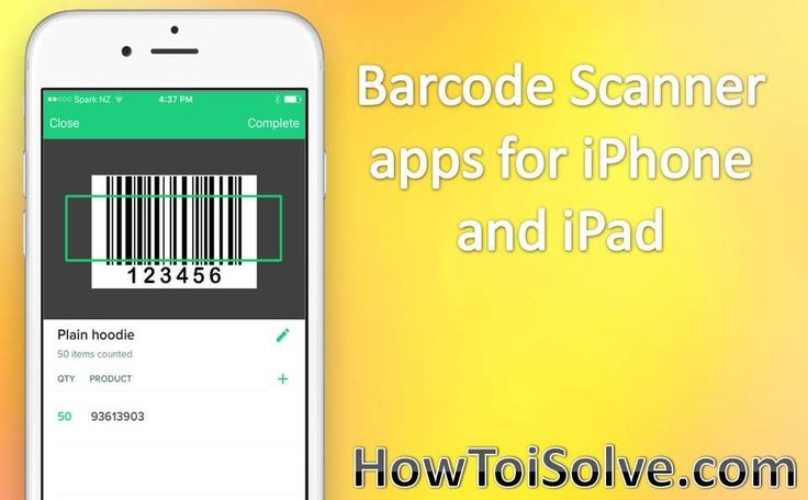 Best Barcode Scanner apps for iPhone and iPad