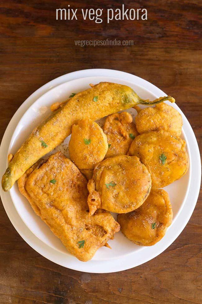 mix vegetable pakora recipe with step by step photos. here's another pakora recipe ideal to have during the monsoons