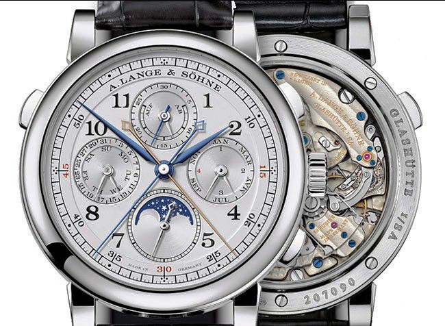 """""""Watch Definitions""""  Perpetual Calendar: A watch with a counting instrument that automatically adjusts itself for the variation of days in months and (leap) years. Perpetual Calendars represent the highest echelon of mechanical watchmaking."""
