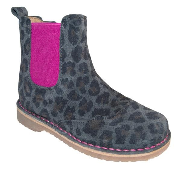 Melton - Støvlet m/lynlås - Leopard