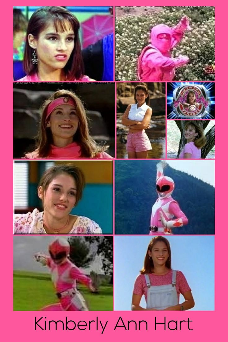 Kimberly Ann Hart-Pink Mighty Morphin Ranger & Pink Ninja Ranger