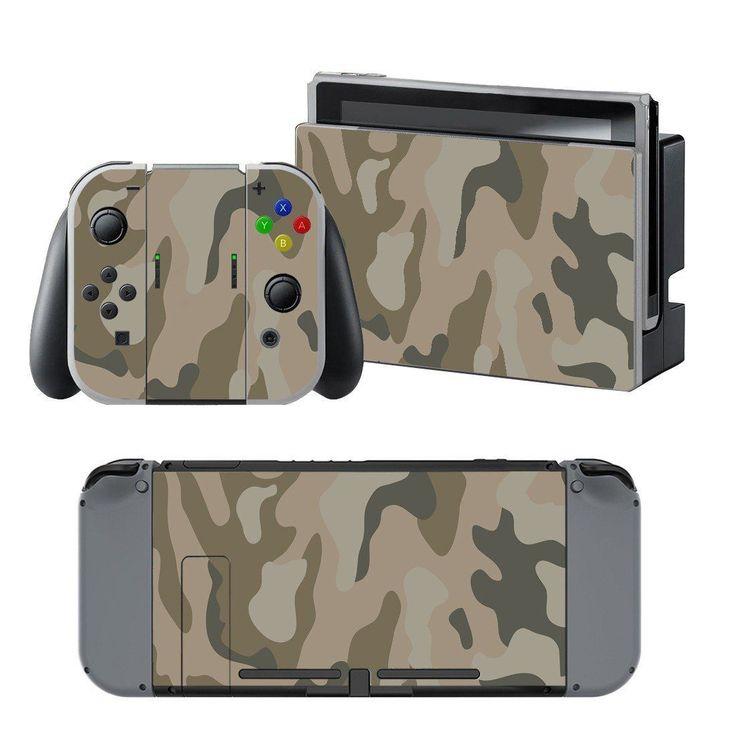 Bape Camo design vinyl decal for Nintendo switch console sticker skin