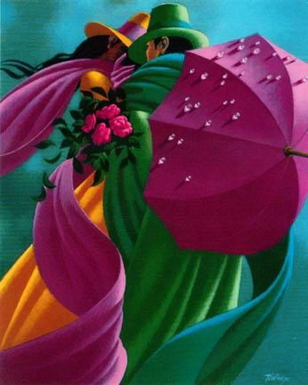by Canadian painter, Claude Theberge