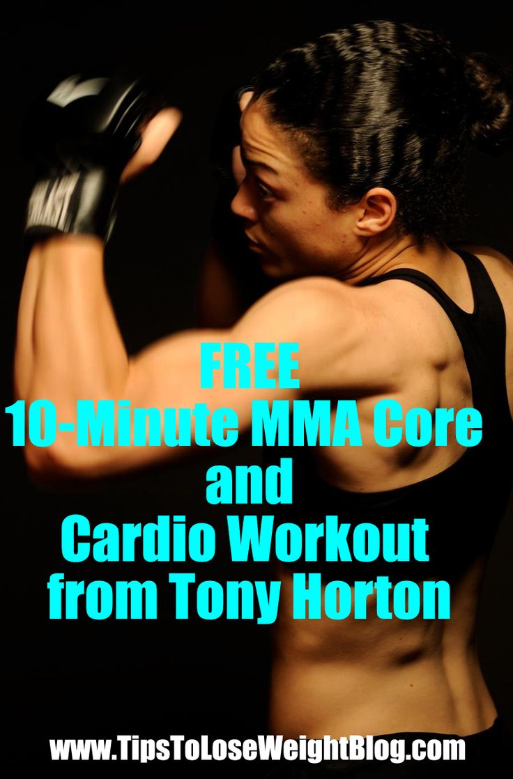 Looking for a quick and free cardio workout? Check this out: 10-Minute MMA Core and Cardio Workout from Tony Horton http://www.tipstoloseweightblog.com/mma-10-minute-core-cardio-workout @homeweightloss