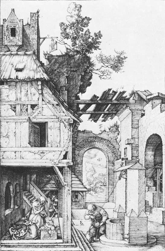 """renaissance-art: """" Albrecht Durer c. 1504 Nativity """""""