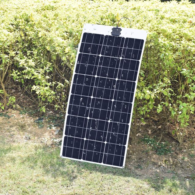 Boguang Flexible Solar Panel 80w Monocrystalline 18v Solar Power Battery Panels Placa Solar 12v Charger Size 1040 50 Solar 12v Solar Cell Solar Power Batteries