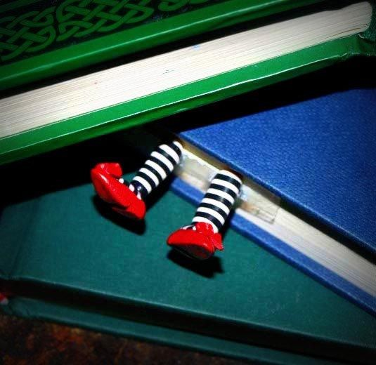 Wicked Witch Bookmark Etsy Original Inspired by Wicked by IansCafe, $10.00