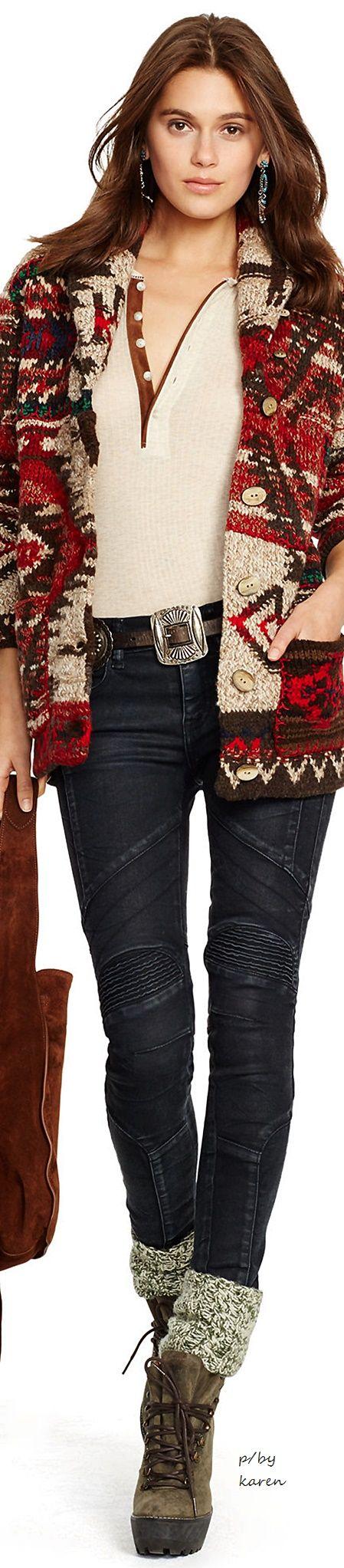 Diamond Cowgirl ~ Ralph Lauren FW 2015