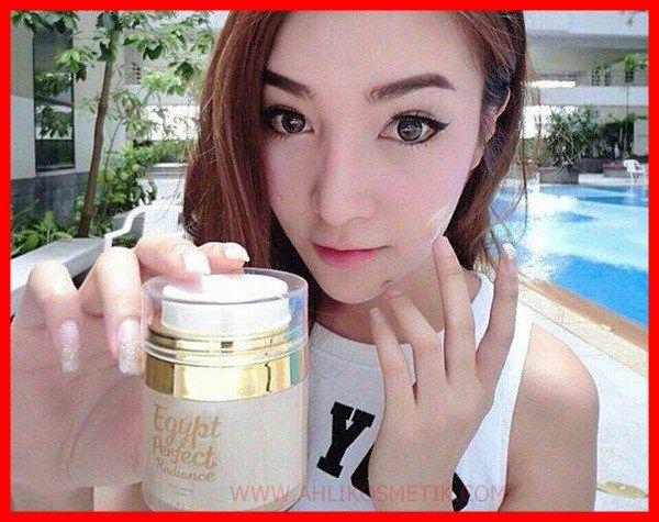 Cewek Cantik Thailand Testi Egypt Perfect Radiance Facial
