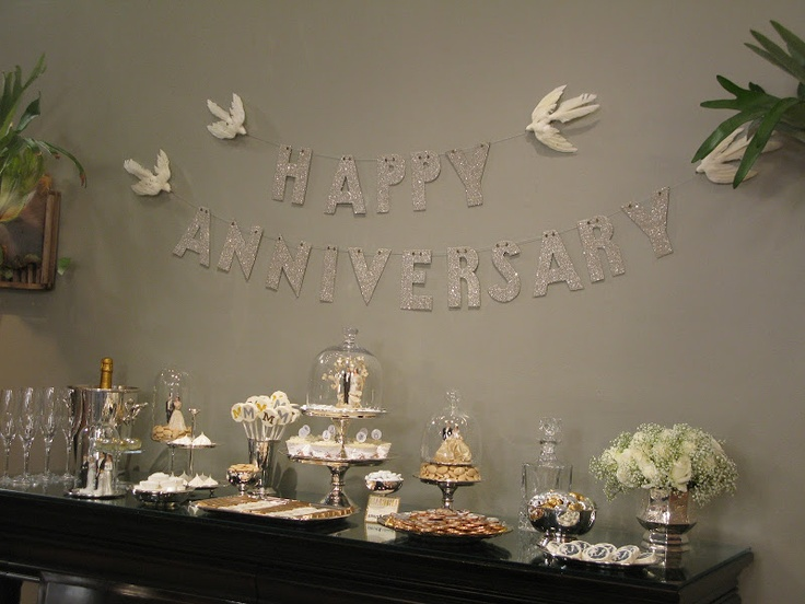 Silver Wedding Anniversary Gifts For Parents: 44 Best Images About 25 Th Anniversary On Pinterest