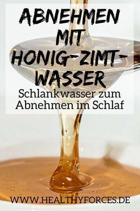 Mit Honig-Zimt-Wasser abnehmen: Einfaches Rezept Steffi Ahrens