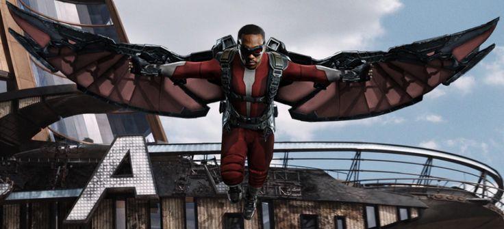 Avengers age of ultron the falcon c classic marvel - Faucon avengers ...
