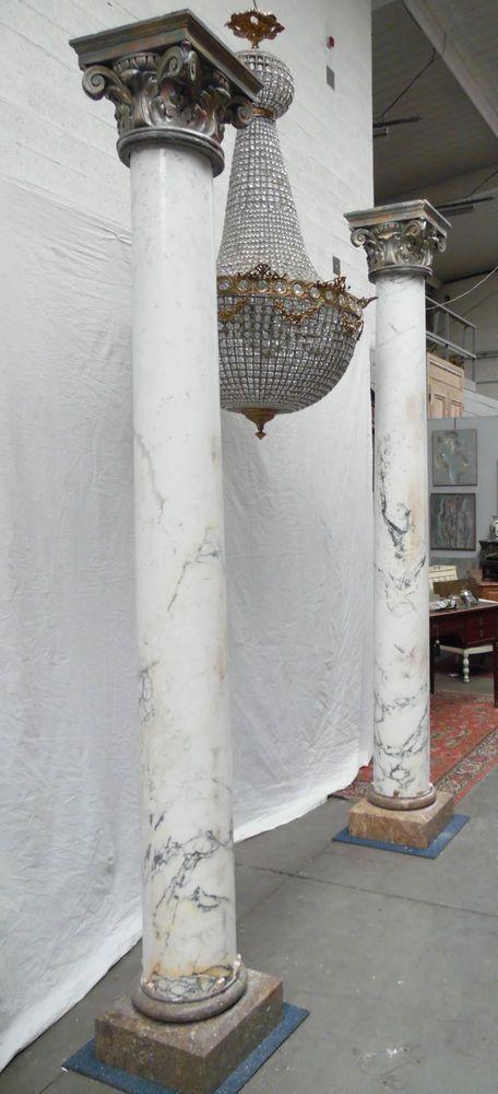1000 id es propos de marbre de carrare sur pinterest for Cuisine avec poteau au milieu
