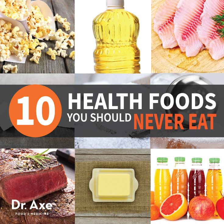 Healthy Foods to Never Eat Title