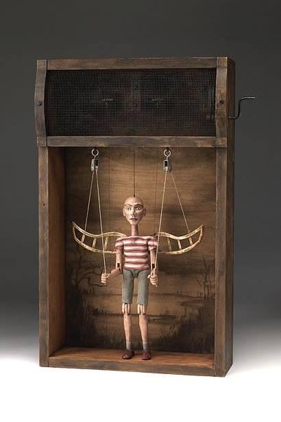 Tom Haney | Atlanta Artist | Automata, Kinetic Art, Creative Sculpture www.tomhaney.com