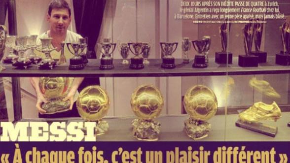 France Football entra a la casa de Messi